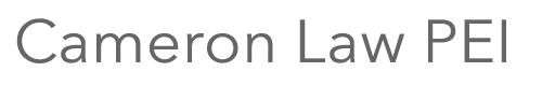 Cameron Law PEI